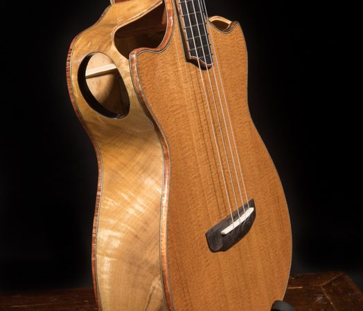 Modified Baritone Ukulele U126