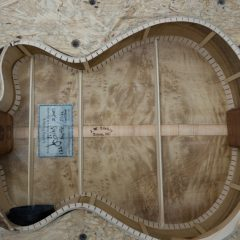 Myrtlewood and Torrefied Spruce Ukulele Construction, U126