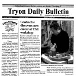Tryon Bulletin Article on Lichty Guitars