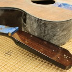 Custom Guitar - a Lichty Indian Rosewood OM with Curly Redwood Top