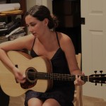 Carolina Musician, Haley Dreis, Picks up her Custom Lichty Guitar