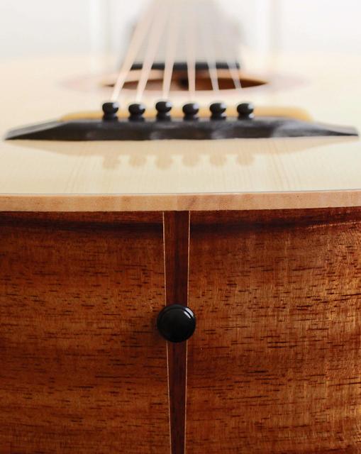 Koa Parlor Guitar, Lichty Guitars