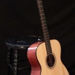 Handmade Bubinga Guitar - win this guitar at www.lichtyguitars.com