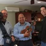 Ben Mulkey, John Le, Jay Lichty of Lichty Guitars