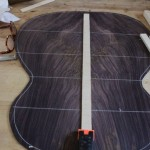 Handmade Curly Indian Rosewood Guitar - construction