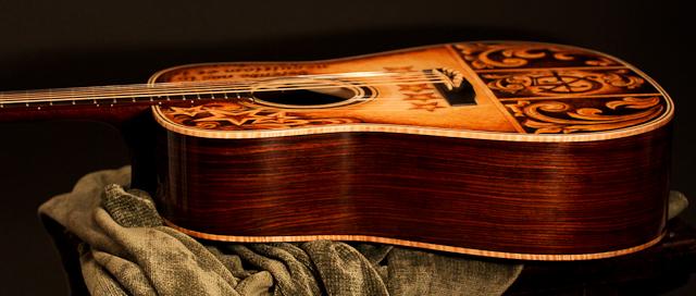 Mike Gossin Custom Acoustic Guitar, Lichty Guitars