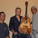 Mike Gossin Custom Acoustic Guitar, Jay Lichty, Mike Gossin, Clark Hipolito