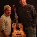 Luthier Jay Lichty, Artist Clark Hipolito, Mike Gossin's Custom Guitar
