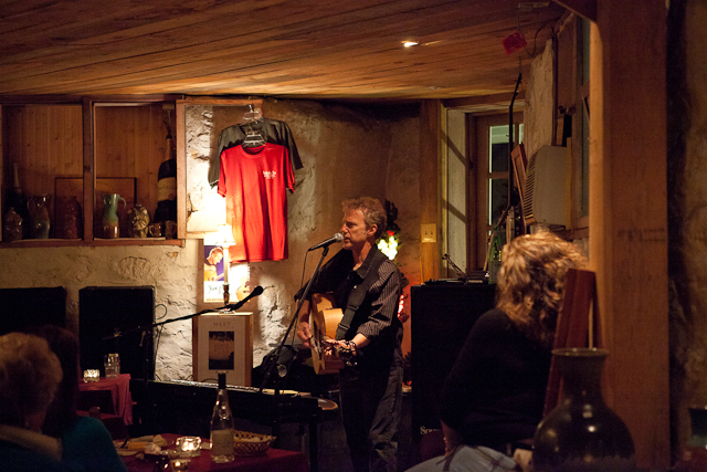 Randall Bramblett at the Saluda Wine Cellar