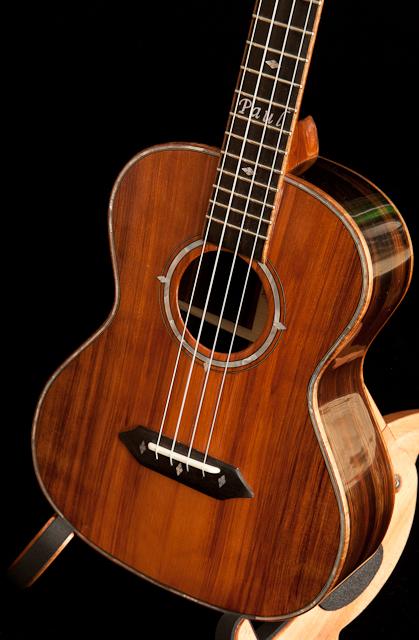 Custom Brazilian Rosewood Tenor Ukulele, Lichty Guitars T14