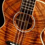 Custom Koa Tenor Ukulele, T17, Lichty Guitars