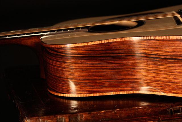 Cocobolo Dreadnought Guitar-2