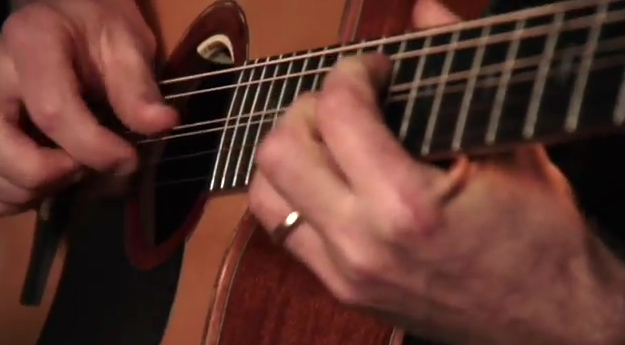 "Geoff Achison ""Don't Play Guitar Boy"" played on his Custom Lichty Guitar"