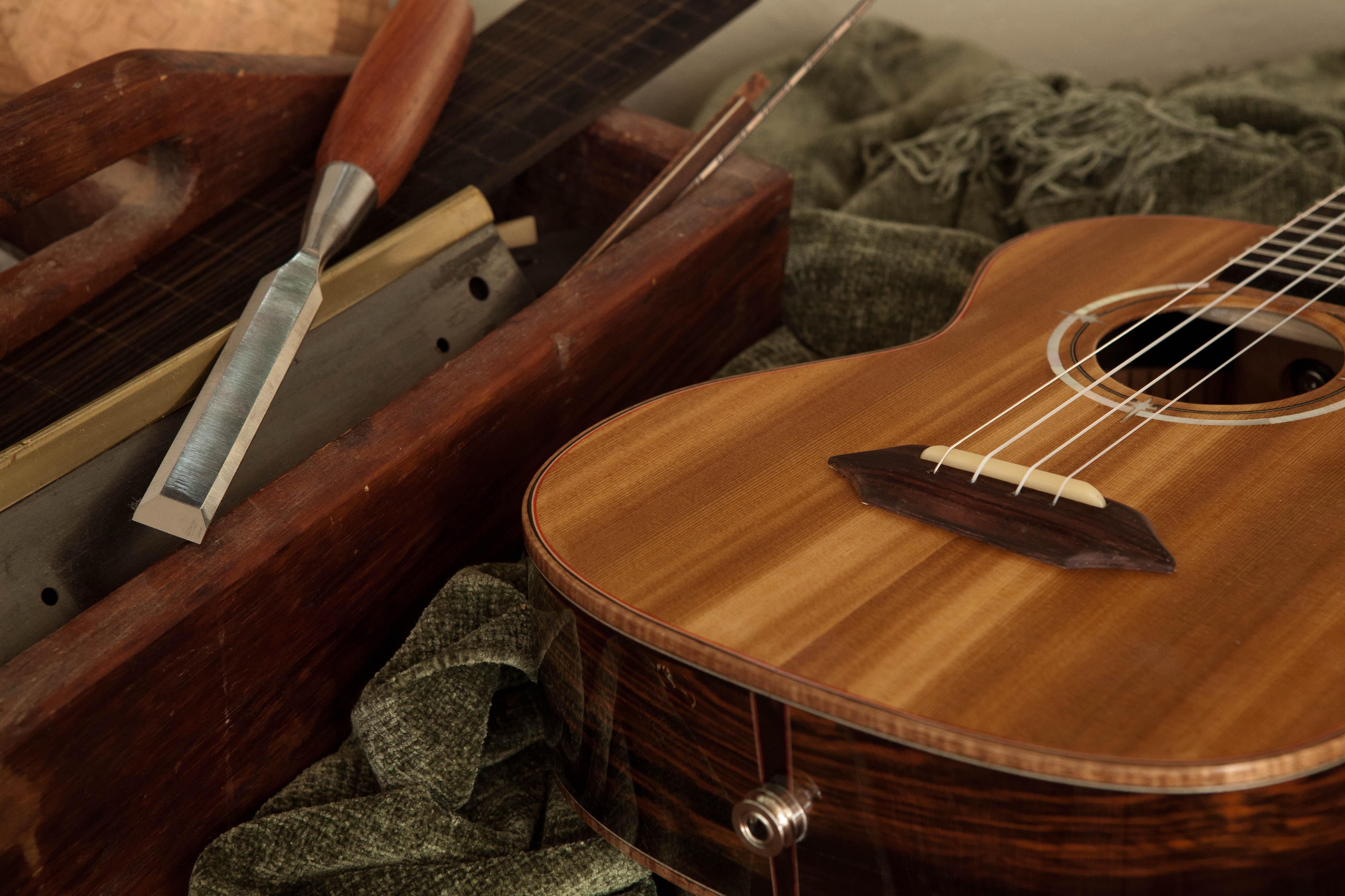 design your custom guitar ukulele online lichty guitars. Black Bedroom Furniture Sets. Home Design Ideas