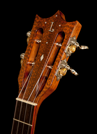 Snakewood Ukulele Headplate