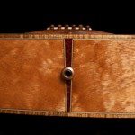 Snakewood end graph on guitar