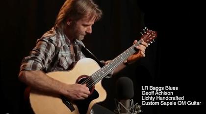 Geoff Achison, LR Baggs Blues
