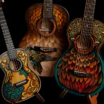Hand painted Guitars, Lichty Hipolito Project