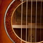 Mahogany Guitar with Sunburst