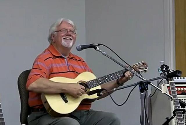 Randy Flack on a LIchty Guitar