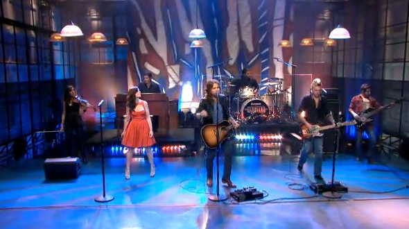 Gloriana on the Tonight Show