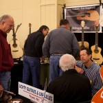Spartanburg Guitar Show, Lichty Guitars Booth