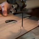 Custom Indian Rosewood Ukulele construction