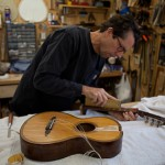 Vintage Guitar Repair, German Parlor Guitar