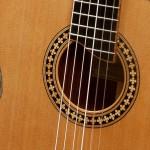 Lichty Cocobolo Crossover Guitar rosette