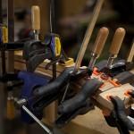 Custom Granadillo Baritone Ukulele Construction