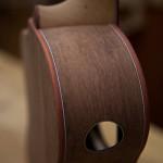 Custom Granadillo Tenor Ukulele Construction