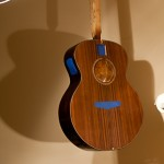 Finishing Touches on Randall Bramblett's Guitar