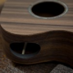 Kimo Hussey Custom Ukulele construction
