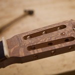 Crossover guitar construction part 2, lacewood
