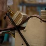 Custom Ukulele construction, cocobolo baritone