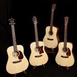 Guitar Building Workshop, Sept 2012, Student Guitars