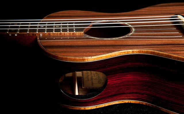 Kimo Hussey Custom Ukulele