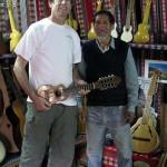 Jay at the Shop of Cuerda de Sabino Huaman