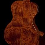 Custom Ukulele, Bubinga Baritone Ukulele