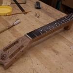 Custom Ukulele Build, Bubinga baritone ukulele