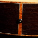 Wenge Guitar, small jumbo with cutaway