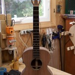 Custom Baritone Ukulele Construction, Granadillo