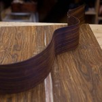 Custom Cocobolo Left Handed Guitar Construction