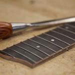 Custom Guitar Construction - lefthanded crossover guitar