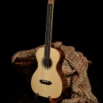 Custom Baritone Ukulele, Walnut