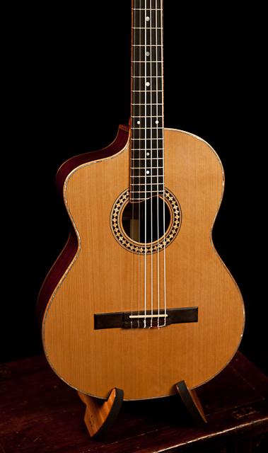 custom left handed crossover guitar lichty guitars. Black Bedroom Furniture Sets. Home Design Ideas