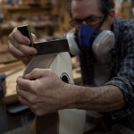 Custom Ukulele Construction, Walnut Baritone Ukulele