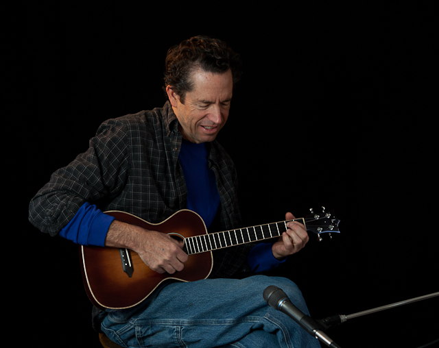 Custom guitar builder Jay Lichty