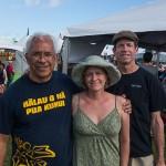 Ukulele Picnic Hawaii 2013, Kimo, Corrie and Jay