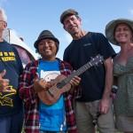 Ukulele Picnic Hawaii 2013, Kimo Hussey, Aldrine Guerrero, Jay Lichty, Corrie Woods